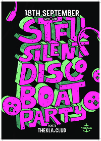 STFU: Silent Disco Boat Party at Thekla in Bristol