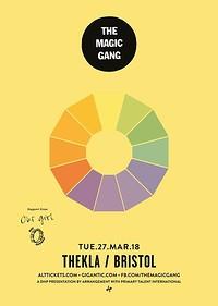 The Magic Gang at Thekla in Bristol
