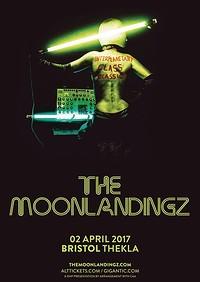 The Moonlandingz at Thekla in Bristol