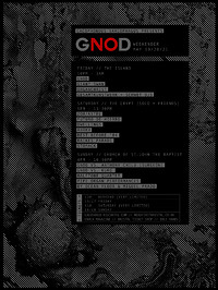 GNOD Weekender at Various in Bristol