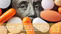 Prohibition World: Who's Winning the War on Drugs? at Virtual Event  in Bristol
