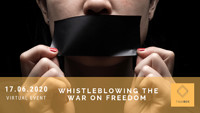 Whistleblowing the War on Freedom  at Virtual Event  in Bristol