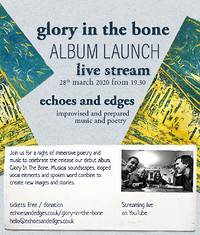 Glory In The Bone // Debut Album Launch Party at YouTube Streaming in Bristol
