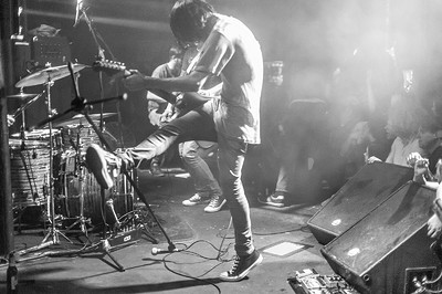 A indie gig in Bristol