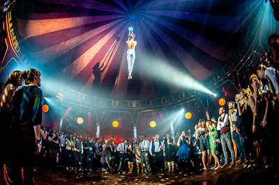 A circus & physical theatre performance in Bristol