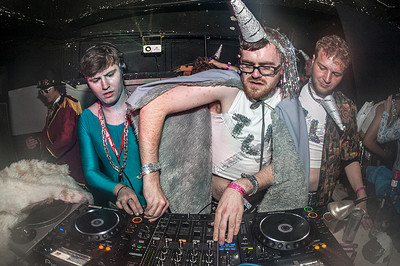Bristol's lesser-spotted unicorn DJs at our favourite nightclub.